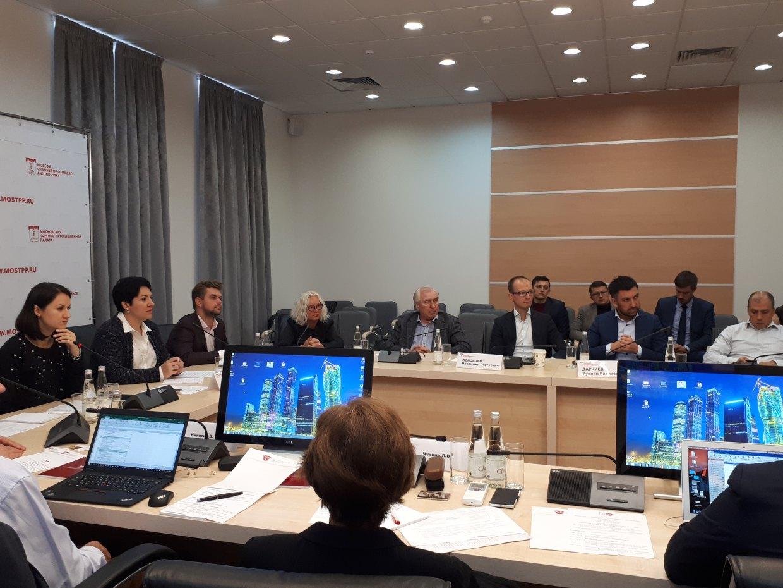 Круглый стол ТПП РФ и Комитета МТПП по развитию инвестсреды для бизнеса  «Выход предприятий малого и среднего бизнеса на финансовые рынки»